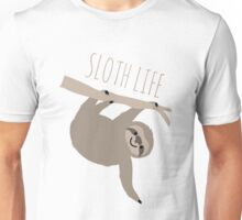 Sloth Life - Happy Lazy Sloth Unisex T-Shirt