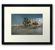 Square Framed Print