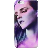 Pink, Purple and Blue Girl iPhone Case/Skin