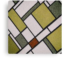 Square Cloth Texture  Canvas Print