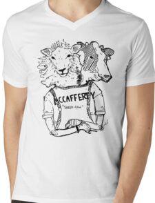 McCafferty - Sheep Cow Mens V-Neck T-Shirt