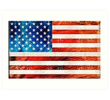 American Flag Art - Old Glory - By Sharon Cummings Art Print