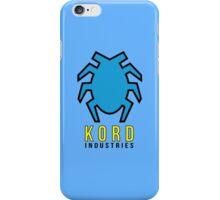 Kord Industries iPhone Case/Skin