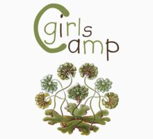 Girls Camp Baby Tee