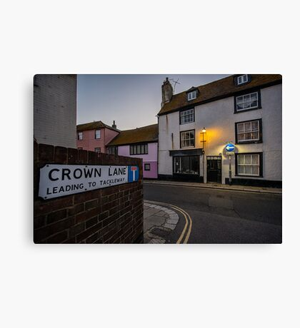 Crown Lane Canvas Print