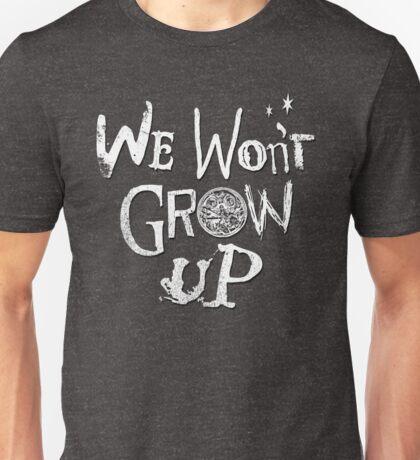 We Won't Grow Up - Peter Pan HCTO 2016 Cast Shirt Unisex T-Shirt