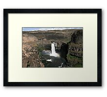 Palouse Falls, Eastern Washington State Framed Print