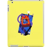 Vacuum robot robot iPad Case/Skin