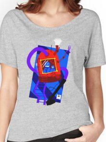 Vacuum robot robot Women's Relaxed Fit T-Shirt