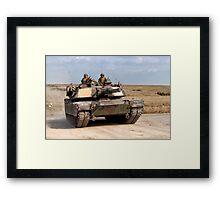 M1A1 Abrams Main Battle Tank Framed Print