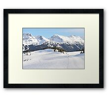 Blackcomb Mountain, Whistler, British Columbia Framed Print