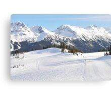 Blackcomb Mountain, Whistler, British Columbia Canvas Print