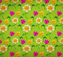 Cute Flower Meadow by colonelle