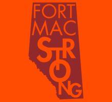 Fort Mac Strong Kids Tee