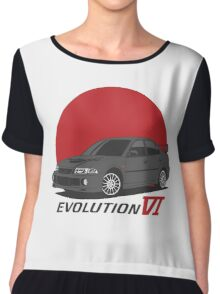 Mitsubishi Lancer Evolution VI (black) Chiffon Top