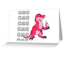 Pink, Sassy and Determined. Greeting Card