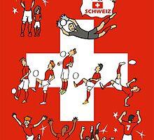 World Cup Switzerland 2014  by colortown