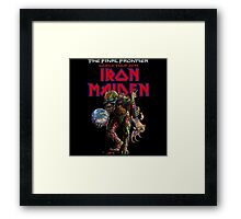 IRON MAIDEN FINAL FRONTIER 2011 Framed Print