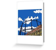Regent's Canal Gas Tower Greeting Card