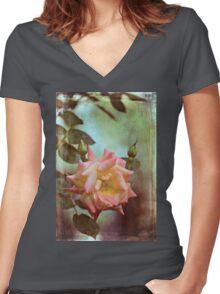 Rose 263 Women's Fitted V-Neck T-Shirt