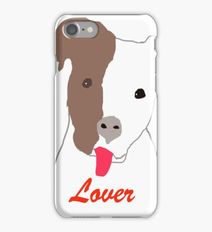 Pit Bull Lover iPhone Case/Skin
