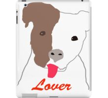 Pit Bull Lover iPad Case/Skin