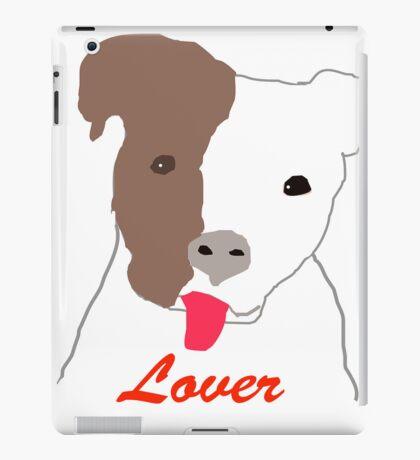Pit Bull Lover iPad Case/Skin