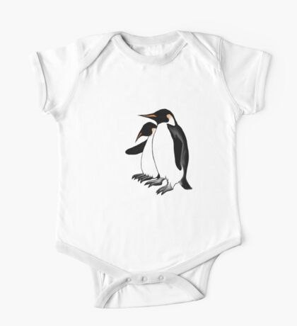 Penguins Deep In Thought One Piece - Short Sleeve