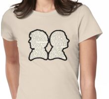 Sherlock and Watson - BBC Womens Fitted T-Shirt