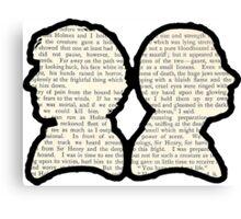 Sherlock and Watson - BBC Canvas Print