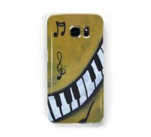 Piano Music Abstract Art By Saribelle Samsung Galaxy Case/Skin