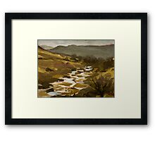 Dartmoor, Devon Framed Print
