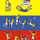 WORLD CUP COLOMBIA 2014 by colortown