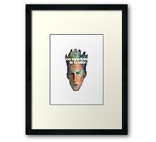 Super Ficial Framed Print
