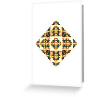 Navajo Cubes [ iphone / ipad / case / mug / shirt ] Greeting Card
