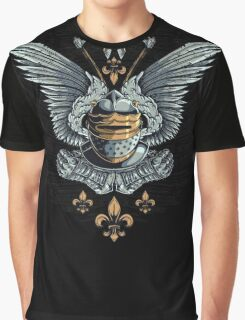 Winged Knight Graphic T-Shirt