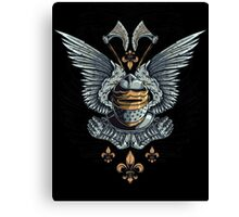 Winged Knight Canvas Print