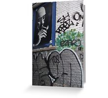 rene graffitti, Montreal Greeting Card