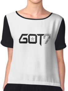 GOT7  Women's Chiffon Top