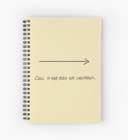 The Treachery of Notation Spiral Notebook
