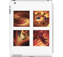 Gnar Ability Icons iPad Case/Skin