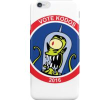 Vote 4 Kodos 2016 iPhone Case/Skin