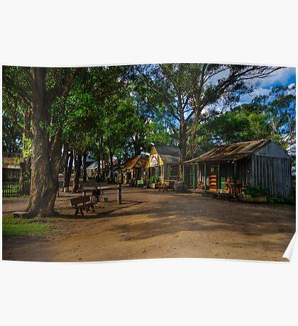 Australiana Pioneer Village Poster