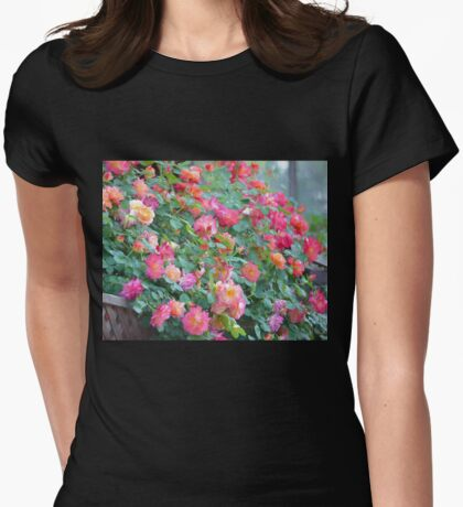 Rose 360 Womens Fitted T-Shirt