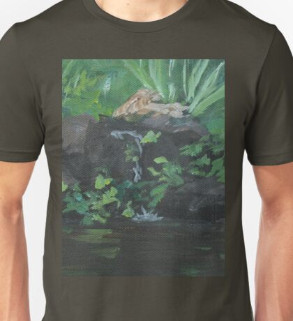 Fountain at the Zoo AC151223b-13 Unisex T-Shirt