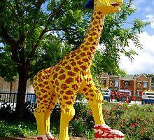 Athletic Giraffe by Cristy Hernandez