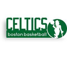 Boston Celtics Basketball NBA Canvas Print