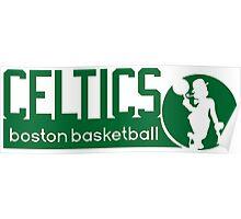 Boston Celtics Basketball NBA Poster