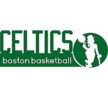 Boston Celtics Basketball NBA Photographic Print