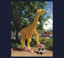 Athletic Giraffe Kids Tee